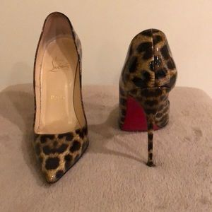 Christian louboutin So Kate 120mm leopard
